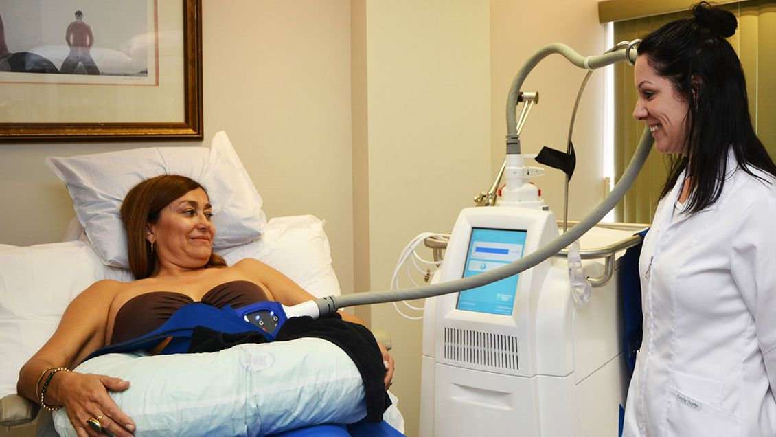 Séance de CoolSculpting®